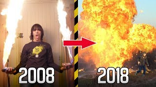 MY WORST EXPERIMENTS IN 10 YEARS! - [All explosions 2008-2018]
