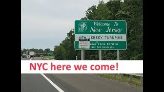 Day 6 ~ Driving from Amish Country PA to New Jersey • NYC Land & Sea Cruise Vlogs [ep12]