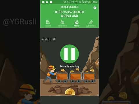 #Subscriber #Subscribe BITCOIN MINER FASTER / Penambang Bitcoin tercepat APLIKASI ANDROID TERBARU