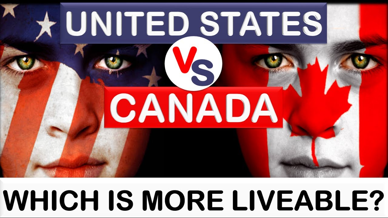 United States  Usa  Vs Canada