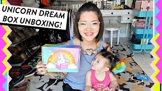 Unicorn Dream Box Unboxing with my Baby | June 2018 | HelloHannahCho