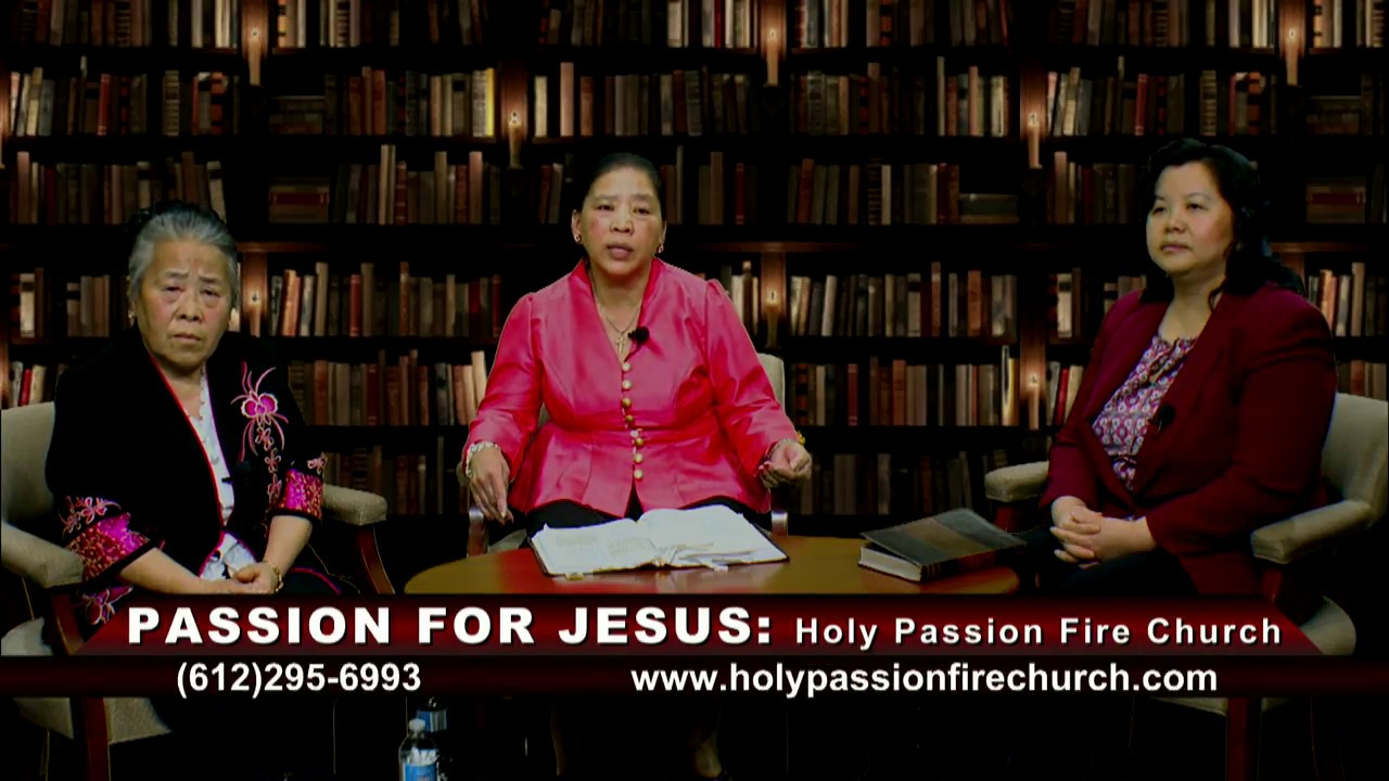 HOLY PASSION FIRE: Live a Born Life Again with Pastor Phua Xiong.