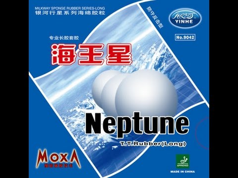 Yinhe Galaxy Neptune long pips table tennis pingpong rubber unboxing and review