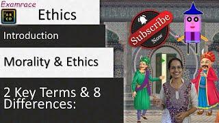 Morality and Ethics - 2 Key Terms & 8 Differences: Introduction to Ethics