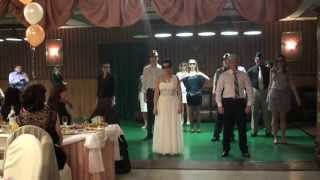 Флешмоб на серебряной свадьбе