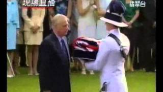 God Save The Queen - The Governor and Commander-in-Chief of Hong Kong