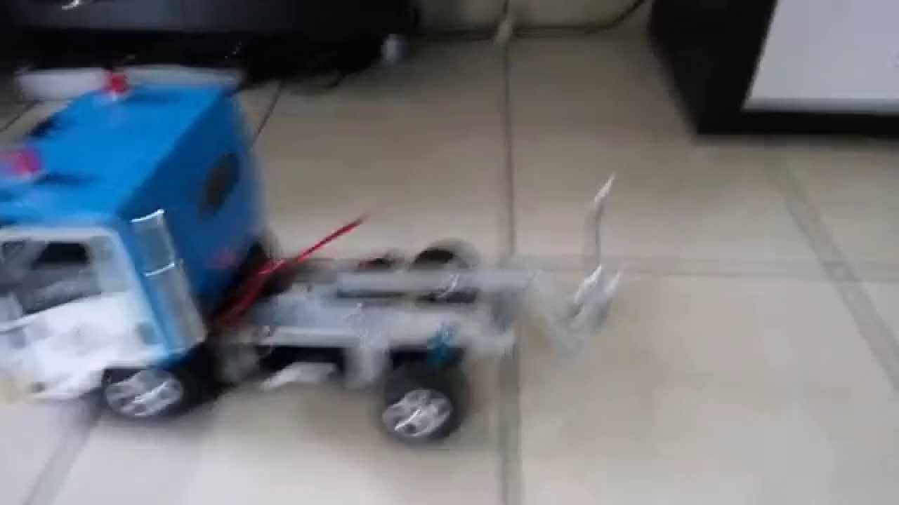 Rc Drift Isuzu Npr Arm 1st Test You