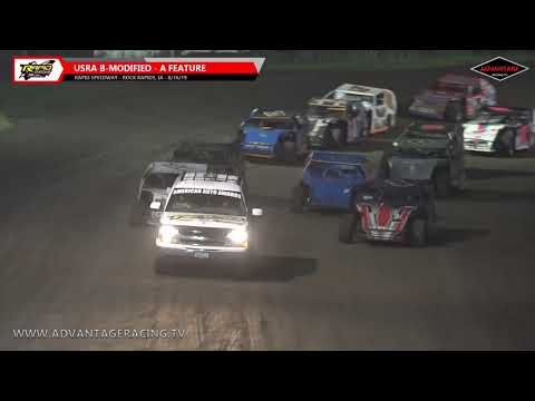 Hobby Stock/B-Modified Features - Rapid Speedway - 8/16/19