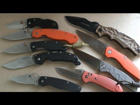 Как выбрать нож. Часть 2 - Складные ножи.