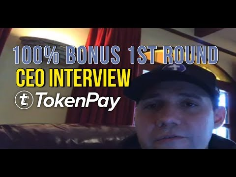 TokenPay ICO Review Analysis 100% BONUS First Round!!! - CEO Interview Webinar - FAQ