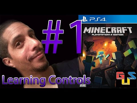 Minecraft PS4 Gameplay Playthrough Part 1 - Learning Controls HD Let's Play
