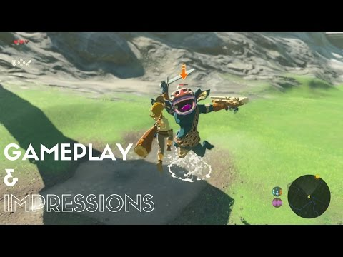 The Legend of Zelda: Breath of the Wild - impressions & footage