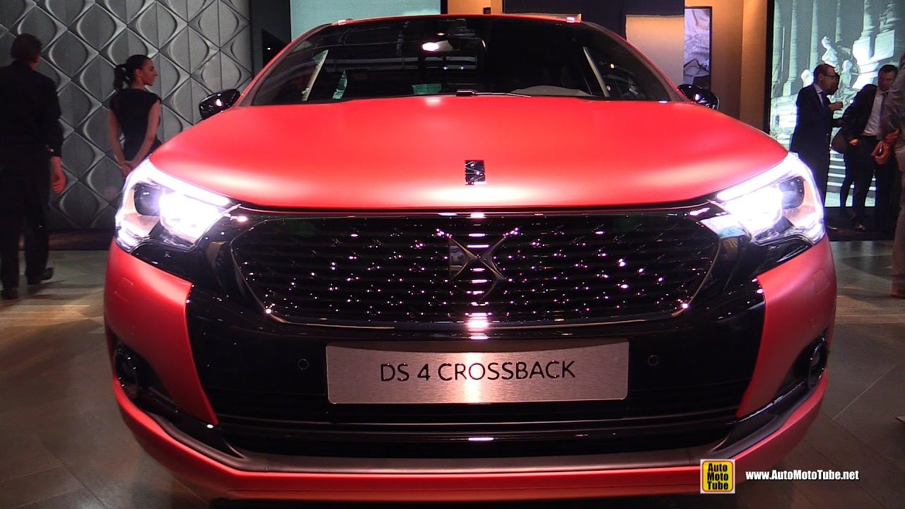 2017 citroen ds4 crossback exterior and interior walkaround 2016 paris motor show youtube. Black Bedroom Furniture Sets. Home Design Ideas