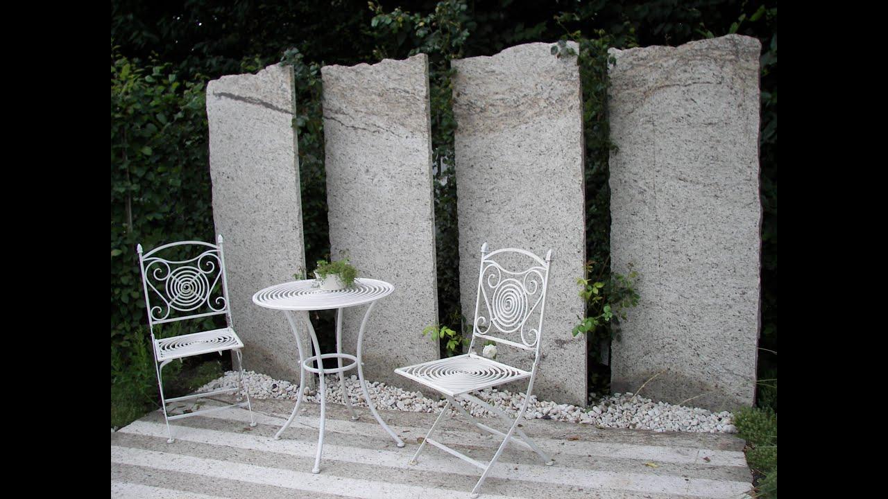 Zwei mediterrane sitzecken und eine geniale sichtschutz for Gartengestaltung kleine garten sichtschutz