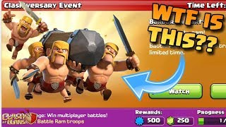 WTF IS THIS!? WHY IS THE BATTLE RAM IN COC?? Pushing To 5100! - Clash of Clans