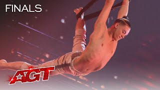 Aidan Bryant Delivers His Most DANGEROUS Performance Yet! - America's Got Talent 2021