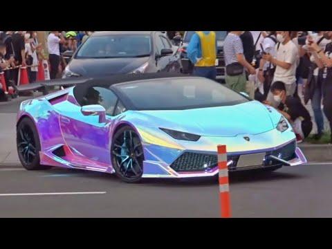 【諸星一家他】スーパーカー加速サウンド/Supercars sound in Japan. Aventador, AMGGT, Huracan, and more!!