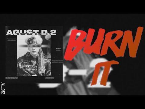 AGUST D - Burn It (Ft. MAX) (Colour Coded Lyrics Han/Rom/Eng)