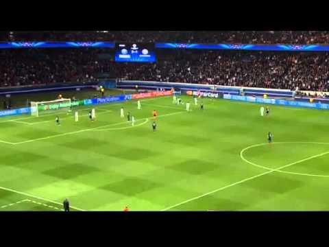 Pastore-PSG 3 1 Chelsea : Thiago Silva FUNNY Reaktion