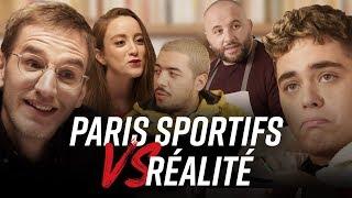 PARIS SPORTIFS vs RÉALITÉ feat. Léopold, Kotei, Kameto, Mokhtar, Allison, Yass - Betclic