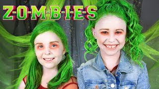 Disney ZOMBIES Eliza and Zoey Makeup and Costumes