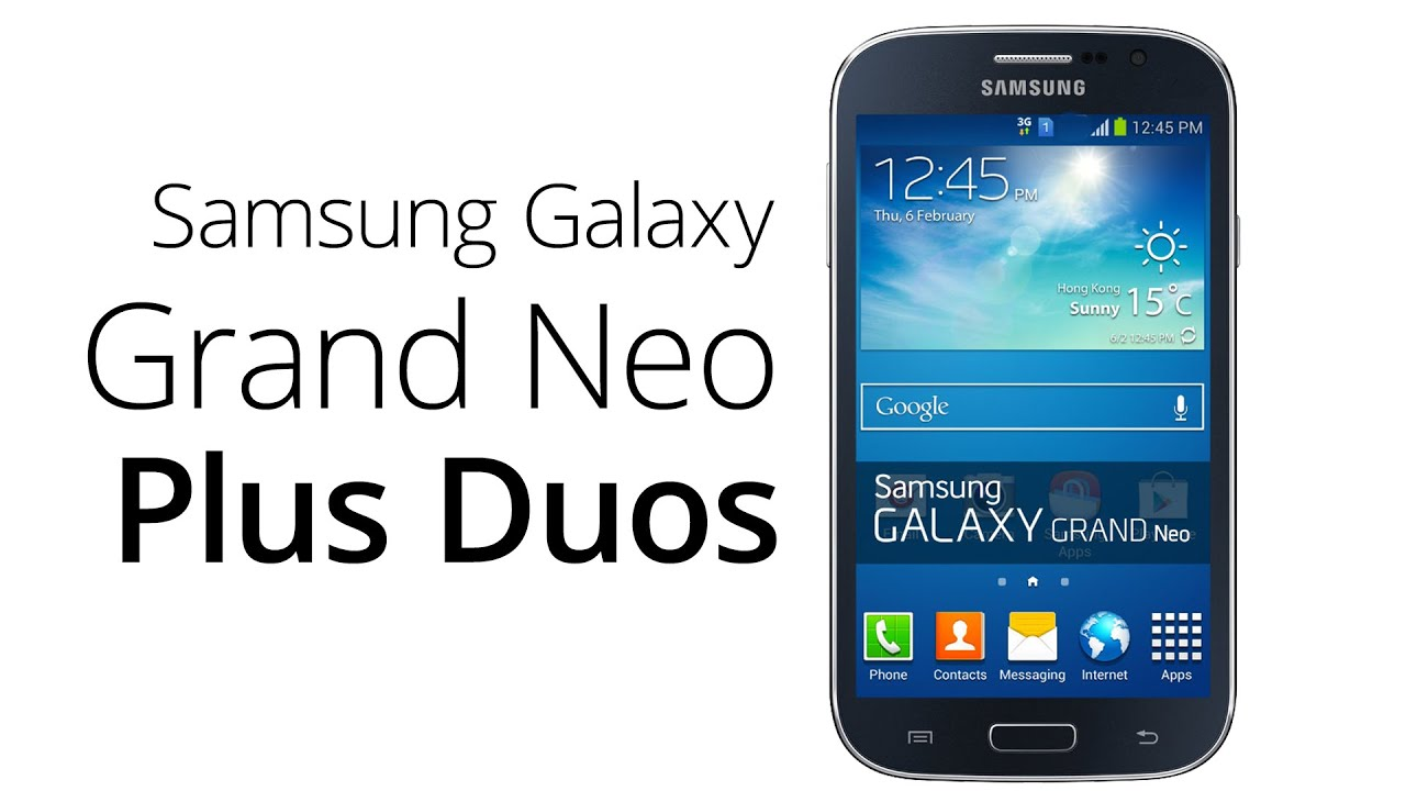 samsung galaxy grand neo plus duos recenze youtube. Black Bedroom Furniture Sets. Home Design Ideas