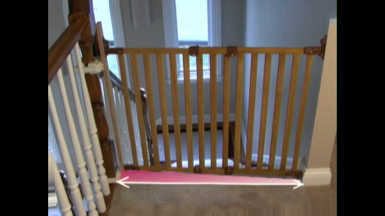 KidCo Angle Mount Wood Safeway Assembly And Installation