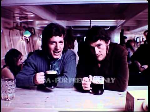 Guiness George Layton 1970s Cinema Adverts Commercials TDA Archive www.finda.co.uk