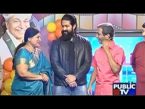 PUBLIC MOVIES Channel Launched: Rocking Star Yash, Shraddha Srinath, Jayamala & Others At Launch