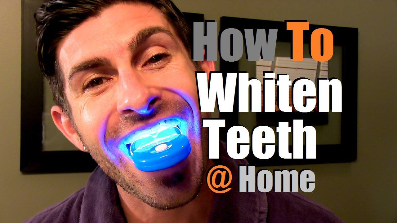 How To Whiten Teeth At Home Teeth Whitening Options Youtube