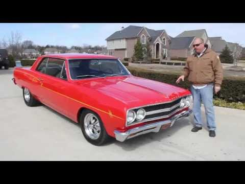 1965 Chevrolet Chevelle Classic Muscle Car For Sale In Mi Vanguard Motor Sales Youtube