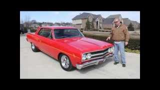1965 Chevrolet Chevelle Classic Muscle Car for Sale in MI Vanguard Motor Sales