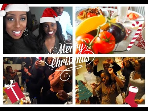 Vlogmas - Christmas Day!! Christmas Brunch & Dinner, Karaoke, Quiz & The Mannequin Challenge
