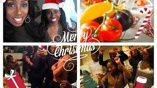 vlogmas christmas day christmas brunch dinner karaoke quiz the mannequin challenge
