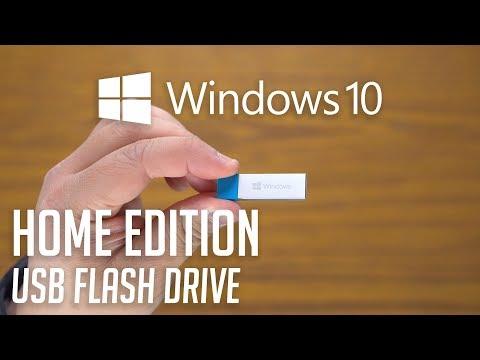 Microsoft Windows 10 Home USB Flash Drive | Unboxing