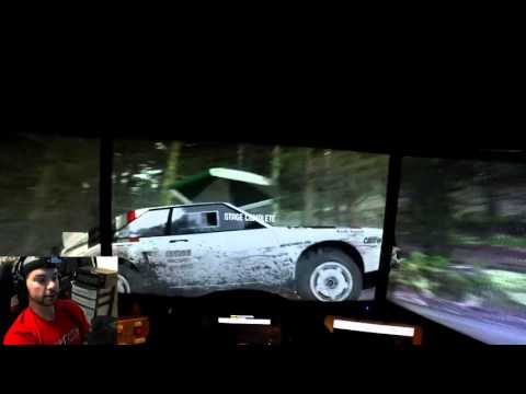 Dirt Rally GoPro First Person View Wales
