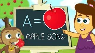 Apple Song + More Nursery Rhymes & Kids Songs