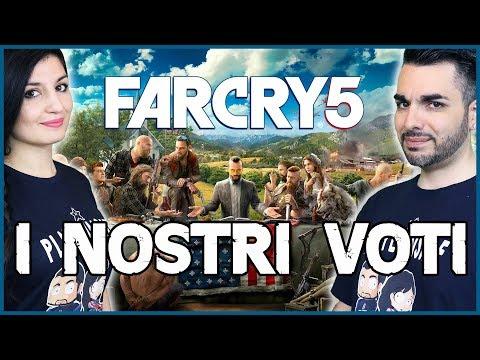 FAR CRY 5 - IL FAR CRY DEFINITIVO? I NOSTRI VOTI AL GIOCO!