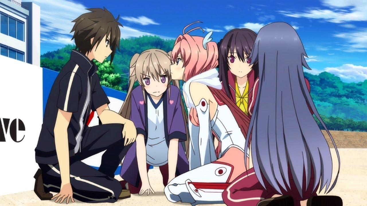 Top 10 melhores animes de harem ecchi comedia hd
