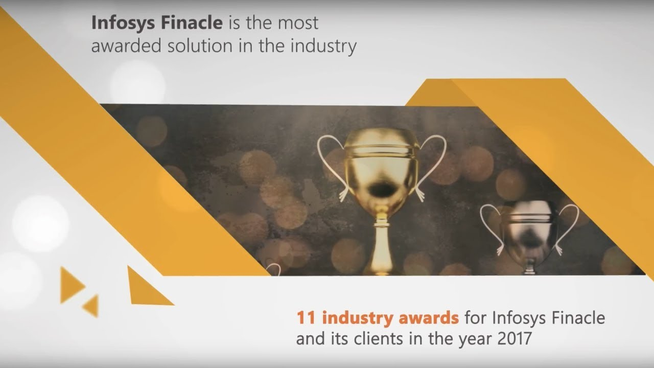 Infosys Finacle and its clients are the most awarded in the industry