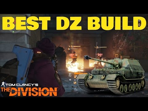 The Division: Best Solo Dark Zone BUILD! DPS/Tank GEAR BUILD!