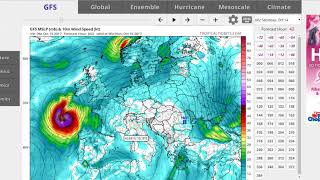 Hurricane Ophelia 115 MPH Major Hurricane Impacts on Ireland England & Scotland
