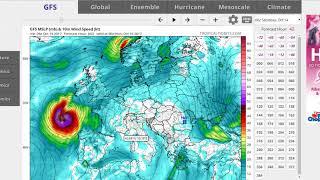 Hurricane Ophelia 115 MPH Major Hurricane Impacts on Ireland England & Scotland