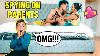 SPYING On My PARENTS For A DAY! **I CAUGHT THEM** | The Royalty Family