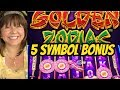 5 SYMBOL BONUS-GOLDEN ZODIAC-GOLD STACKS