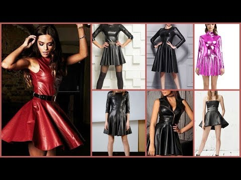 gorgeous-short-leather-prom-dress-collection