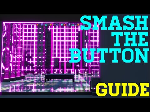 How To Complete Smash The Button By Tiny (All Levels) Fortnite Creative Guide