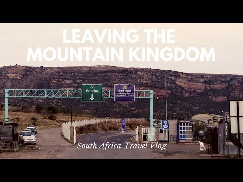 Lesotho to South Africa Border Crossing Trouble  South Africa Day 10