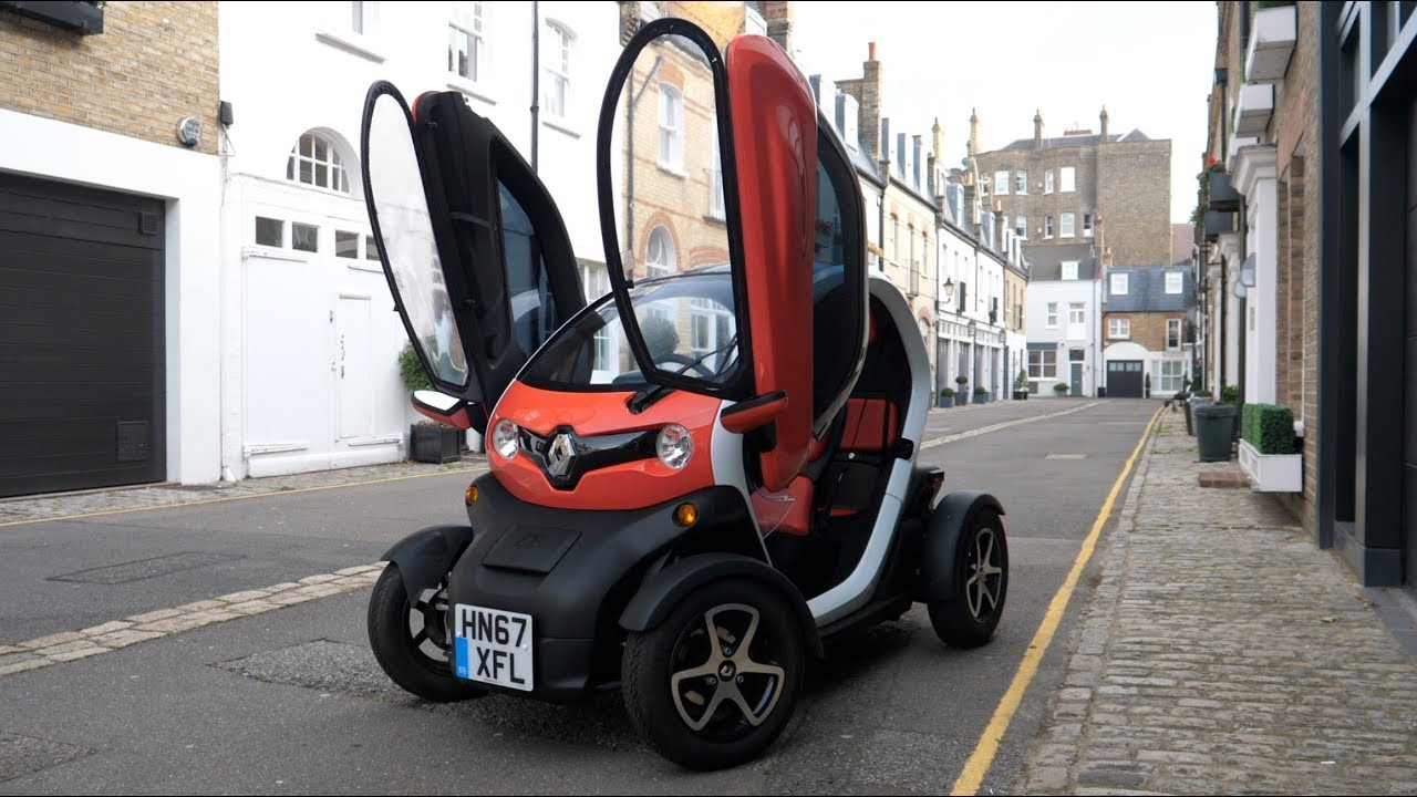 Living With A Renault Twizy In Central London Youtube