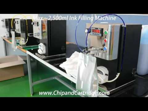 Ink Filling Machine for Mimaki Mutoh, Roland Ink Bag and Cartridge